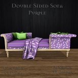 [M] Double sided Sofa PurpleAD
