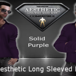Polo Shirt AE Solid Purple [TF]