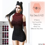 poly dress advert