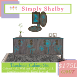 Simply Shelby Dandelion Cabinet Set