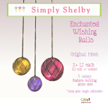 .Simply Shelby Enchanted Wishing Ball Lamps