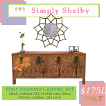 Simply Shelby four seasons cabinet set