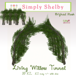 Simply Shelby Living Willow Tunnel