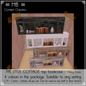the little cottage top bookcase w