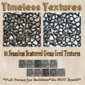 TT 10 Seamless Scattered Gems Iced Timeless Textures