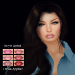 .__WoW Skins__. Marylin Lipstick catwa applier