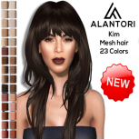 ALANTORI - Kim Mesh Hair in 23 Colors