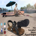 ALANTORI - Leather Sandals