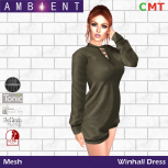 AMBIENT FASHION - WINHALL DRESS 35L SS