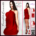 =Draped In Red= FitMESH Ensemble Display Ad