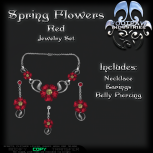 [FPI] Spring Flowers Red PIC