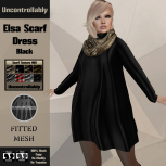 [PIC] Elsa Scarf Dress - Black