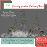 Simply Shelby It Came Upon a Midnight Clear - Fawn scene