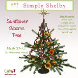 Simply Shelby Sunflower Blooms Tree