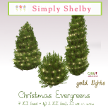 Simply Shelby Winter Evergreens