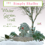 Simply Shelby Winter Garden Troll