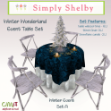 Simply Shelby Winter Wonderland Table set A