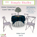 Simply Shelby Winter Wonderland Table set B
