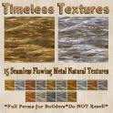 TT 15 Seamless Flowing Metal Natural Timeless Textures
