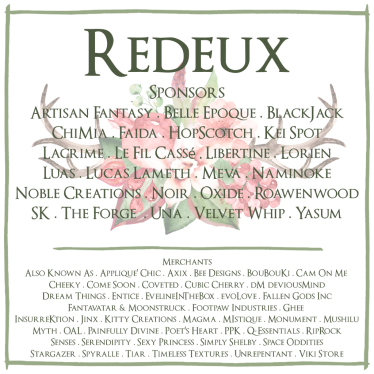 Redeux December Merchants