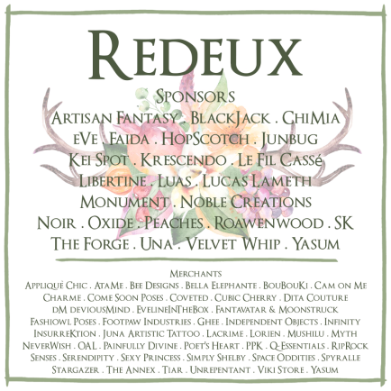 Redeux February Merchants