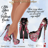 DPB Ritas Shoes In Patterns Gacha Key pg 2