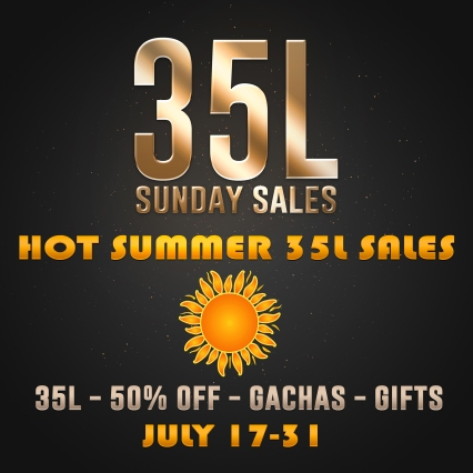 Hot Summer 35L Sales July 17-31
