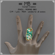 mermaid ring 1w