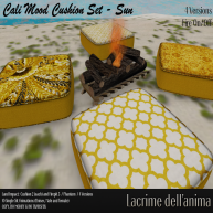 (PIC) Cali Mood Cushion Set - Sun
