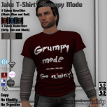 [PIC] Jake T-Shirt - Grumpy Mode
