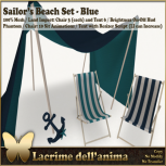 (PIC) Sailor's Beach Set - Blue
