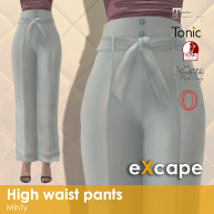 high waist pants minty vendor rea