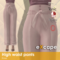 high waist pants rose vendor rea