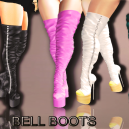 ._ Lekilicious Store_. BELL BOOTS (BOXED)