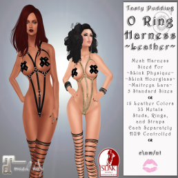 Tasty Pudding - O Ring Harness - Leather - Main Board