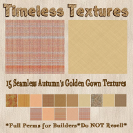 TT 15 Seamless Autumn's Golden Gown Timeless Textures
