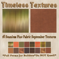 TT 16 Seamless Fine Fabric September Timeless Textures