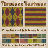 TT 20 Seamless Mixed Knits Autumn Timeless Textures
