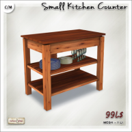 AD small kitchen counter