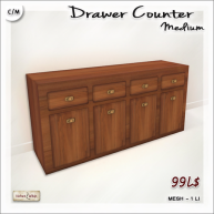 AD - VW - Drawer Counter Medium