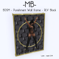 Bdsn Punishment frame BLACK w