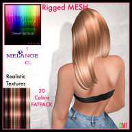 Bella Med MESH Hair _Back