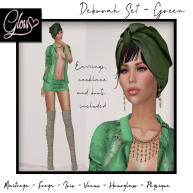 DEBORA SET GREEN