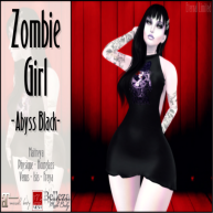 ELTD Zombie Girl - Abyss Black PIC