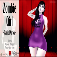 ELTD Zombie Girl - Panic Purple PIC