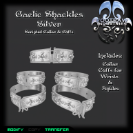[FPI] Gaelic Shackles Silver PIC