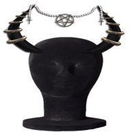 MM Demonic Horn Display horn black