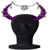 MM Demonic Horn display horn purp