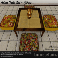 (PIC) Adara Table Set - Citrine