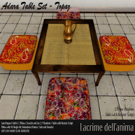 (PIC) Adara Table Set - Topaz